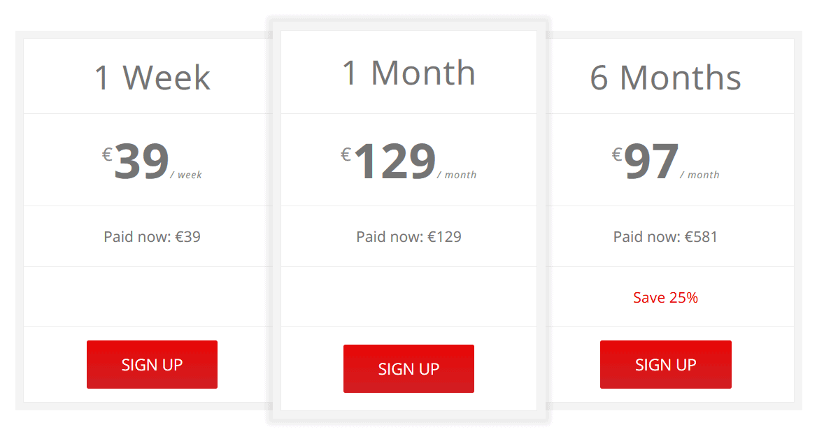 RebelBetting price