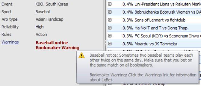 RebelBetting warnings