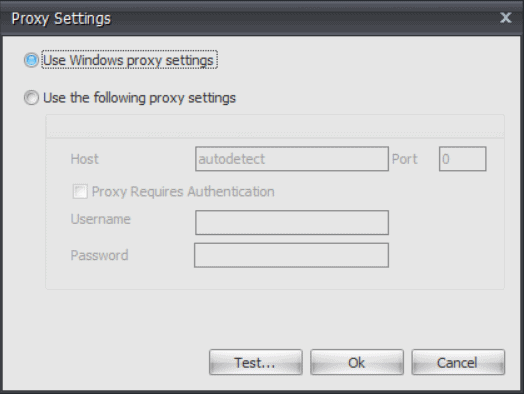 RebelBetting proxy settings